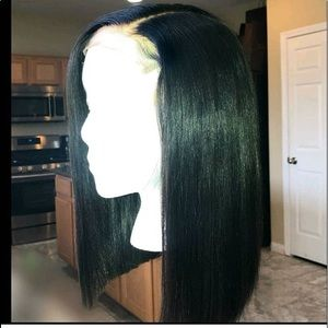 Bob human hair lace front with hair line